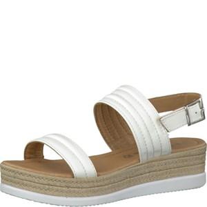 Tamaris-Schuhe-Sandalette-WHITE-Art.:1-1-28361-28/100
