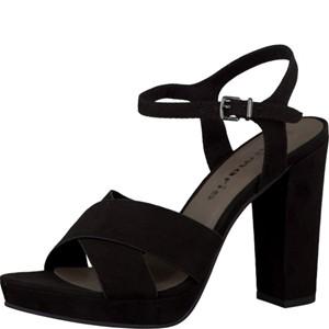 Tamaris-Schuhe-Sandalette-BLACK-Art.:1-1-28368-28/001