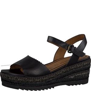 Tamaris-Schuhe-Sandalette-BLACK-Art.:1-1-28370-28/001