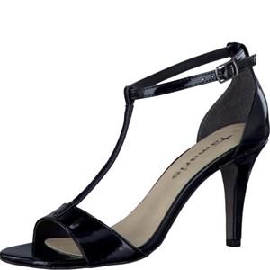 Tamaris-Schuhe-Sandalette-BLACK-PATENT-Art.:1-1-28392-28/018