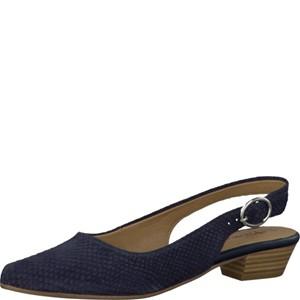 Tamaris-Schuhe-Sandalette-NAVY-STRUCTURE-Art.:1-1-29400-28/855