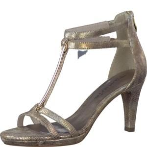 Tamaris-Schuhe-Sandalette-GOLD-STRUCTURE-Art.:1-1-28006-38/953