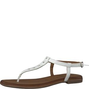 Tamaris-Schuhe-Sandalette-WHITE-Art.:1-1-28133-38/100