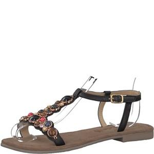 Tamaris-Schuhe-Sandalette-BLACK-COMB-Art.:1-1-28142-38/098