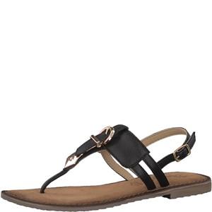 Tamaris-Schuhe-Sandalette-BLACK-Art.:1-1-28160-38/001
