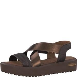 Tamaris-Schuhe-Sandalette-MOCCA/BRONCE-Art.:1-1-28219-38/448