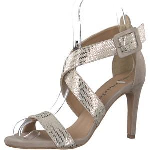 Tamaris-Schuhe-Sandalette-LT-GOLD-COMB-Art.:1-1-28360-28/759