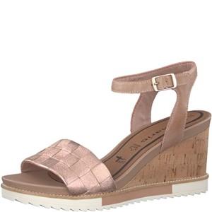 Tamaris-Schuhe-Sandalette-ROSE-METALLIC-Art.:1-1-28381-38/952