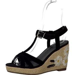 Tamaris-Schuhe-Sandalette-BLACK-Art.:1-1-28390-38/001