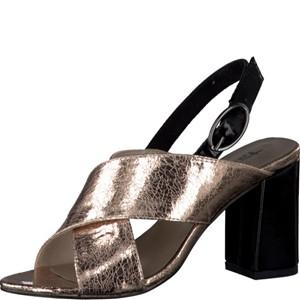 Tamaris-Schuhe-Sandalette-LT.ROSE/BLACK-Art.:1-1-28395-38/593