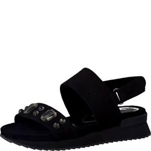 Tamaris-Schuhe-Sandalette-BLACK-Art.:1-1-28701-38/001