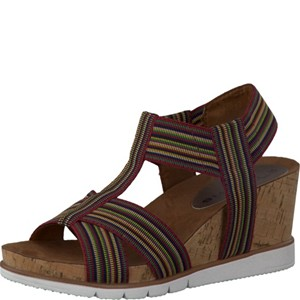 Tamaris-Schuhe-Sandalette-MULTICOLOUR-Art.:1-1-28704-38/990