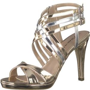 Tamaris-Schuhe-Sandalette-COPPER/SILVER-Art.:1-1-28022-38/799