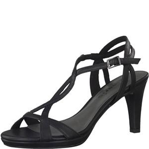 Tamaris-Schuhe-Sandalette-BLACK-MATT-Art.:1-1-28024-38/020