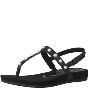 Tamaris-Schuhe-Sandalette-BLACK-Art.:1-1-28605-38/001