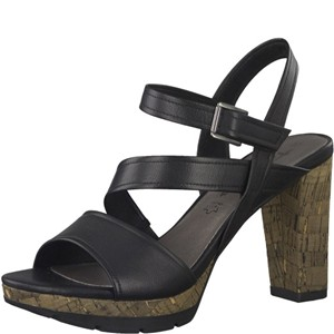 Tamaris-Schuhe-Sandalette-BLACK-Art.:1-1-28606-38/001