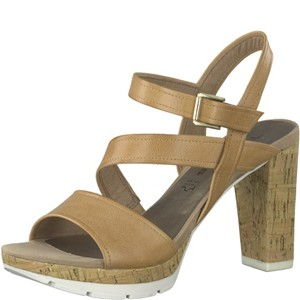 Tamaris-Schuhe-Sandalette-CAMEL-Art.:1-1-28606-38/310