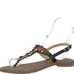 Tamaris-Schuhe-Sandalette-BLACK-COMB-Art.:1-1-28135-28/098