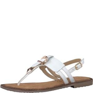 Tamaris-Schuhe-Sandalette-WHITE-Art.:1-1-28160-38/100