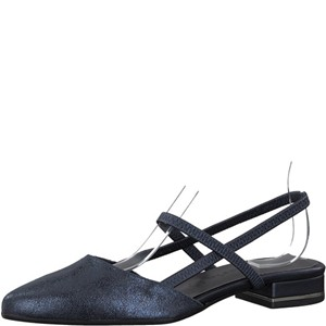 Tamaris-Schuhe-Sandalette-NAVY-METALLIC-Art.:1-1-29408-20/824