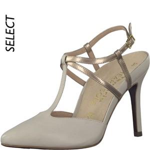 Tamaris-Schuhe-Sandalette-IVORY/COPPER-Art.:1-1-29611-20/492-HS