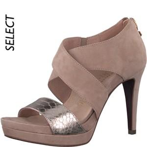 Tamaris-Schuhe-Sandalette-TAUPE/SNAKE-Art.:1-1-28301-20/363-HS