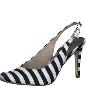 Tamaris-Schuhe-Sandalette-NAVY-STRIPES-Art.:1-1-29614-30/865