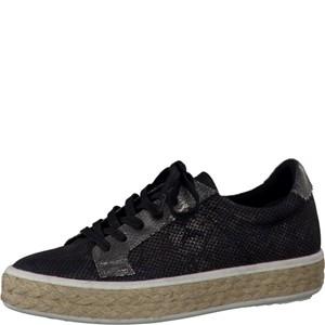 Tamaris-Schuhe-Schnürer-BLACK-STRUCT.-Art.:1-1-23612-28/006
