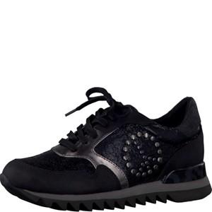 Tamaris-Schuhe-Schnürer-BLACK-STR.COMB-Art.:1-1-23614-28/053