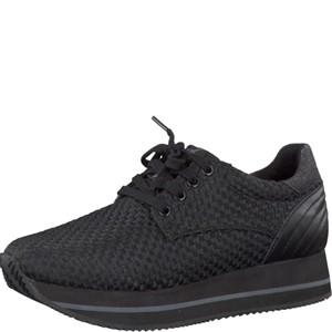 Tamaris-Schuhe-Schnürer-BLACK-WOVEN-Art.:1-1-23704-28/066