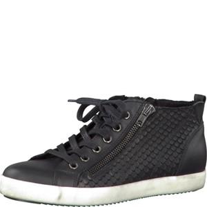 Tamaris-Schuhe-Schnürer-BLACK-LEA-STR.-Art.:1-1-25205-28/017/x15