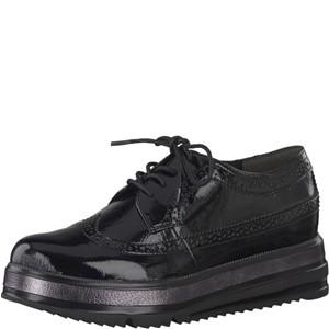 Tamaris-Schuhe-Schnürer-BLACK-PATENT-Art.:1-1-23700-39/018