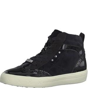 Tamaris-Schuhe-Schnürer-BLACK-COMB-Art.:1-1-25207-29/098