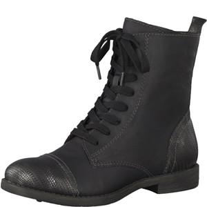 Tamaris-Schuhe-Schnürer-BLACK-Art.:1-1-25205-29/001