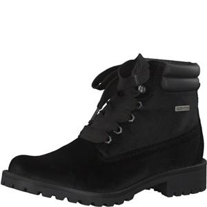 Tamaris-Schuhe-Schnürer-BLACK-VELVET-Art.:1-1-25742-29/048