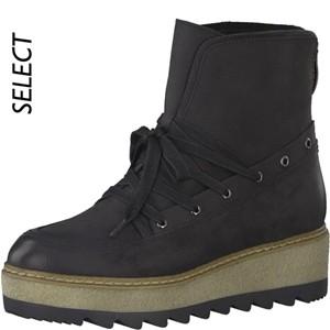 Tamaris-Schuhe-Schnürer-BLACK-Art.:1-1-25211-29/001-MO