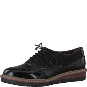 Tamaris-Schuhe-Schnürer-BLACK-COMB-Art.:1-1-23307-39/098
