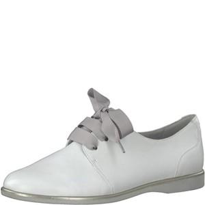 Tamaris-Schuhe-Schnürer-WHITE-Art.:1-1-23209-20/100