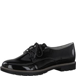 Tamaris-Schuhe-Schnürer-BLACK-PATENT-Art.:1-1-23215-20/018