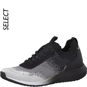 Tamaris-Schuhe-Schnürer-BLACK/WHITE-Art.:1-1-23714-20/005