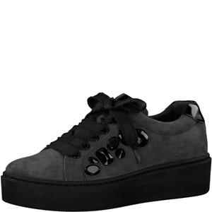 Tamaris-Schuhe-Schnürer-GRAPHITE/BLACK-Art.:1-1-23702-31/208