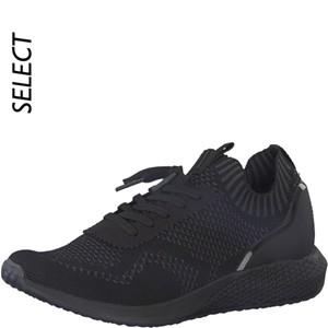 Tamaris-Schuhe-Schnürer-BLACK/DK-GREY-Art.:1-1-23714-31/059-FL