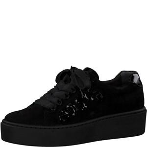 Tamaris-Schuhe-Schnürer-BLACK/BLACK-Art.:1-1-23702-31/056