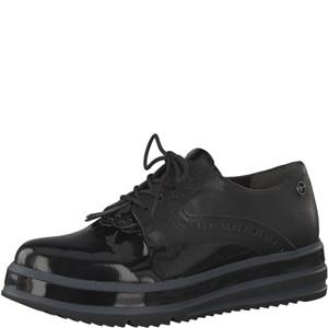 Tamaris-Schuhe-Schnürer-BLACK-Art.:1-1-23728-21/001