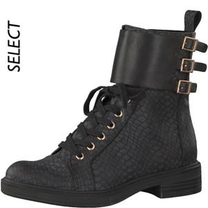 Tamaris-Schuhe-Schnürer-BLACK-STRUCT.-Art.:1-1-25201-21/006-MO