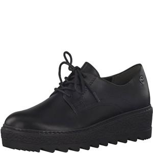 Tamaris-Schuhe-Schnürer-BLACK-MATT-UNI-Art.:1-1-23703-21/021