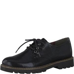 Tamaris-Schuhe-Schnürer-BLACK-STRUCT.-Art.:1-1-23712-21/006