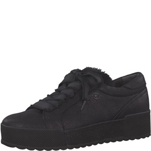 Tamaris-Schuhe-Schnürer-BLACK-METALLIC-Art.:1-1-23726-21/033