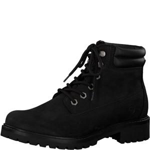 Tamaris-Schuhe-Schnürer-BLACK-UNI-Art.:1-1-25242-21/007