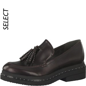 Tamaris-Schuhe-Slipper-BORDEAUX-BRUSH-Art.:1-1-24311-29/551-TP